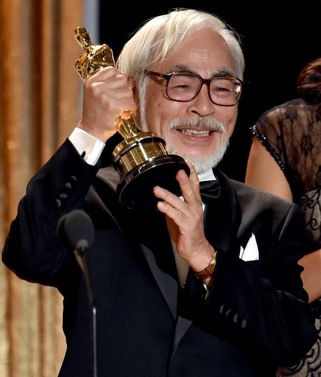 宫崎骏终身成就奖 3年前已获奥斯卡终身成就奖