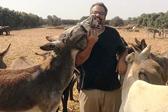 以色列毛驴见到分别12年饲养员后一眼识出