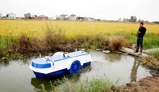 江苏南通:机器人助力现代养殖提质增效