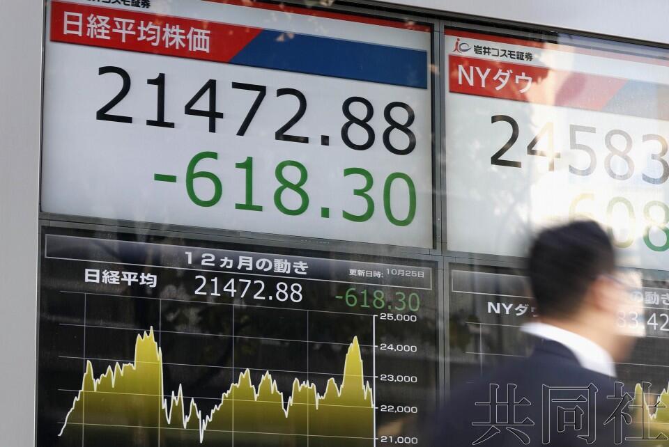 日媒:国际政局扑朔迷离再度重挫东京股市