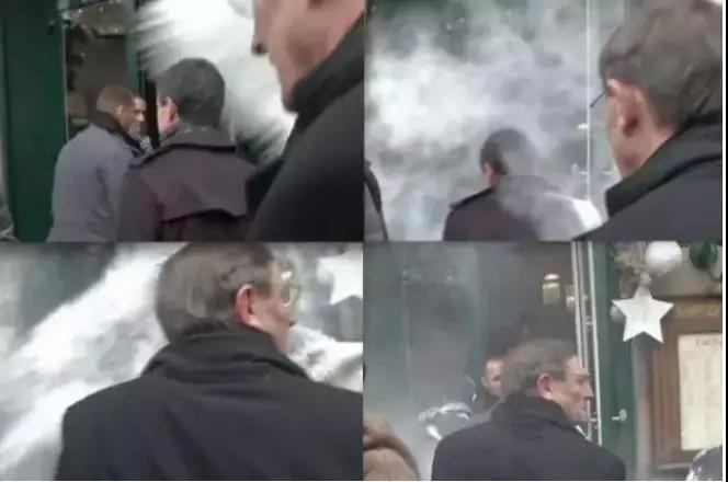 砸鸡蛋、泼面粉、扇耳光:那些曾遭攻击的法国政客