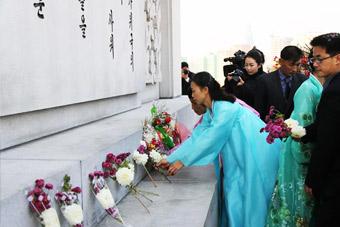 中朝纪念中国人民志愿军赴朝参战68周年