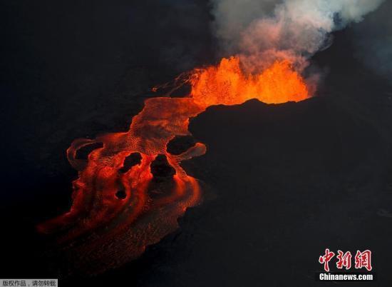 """全美18座火山有""""非常严重威胁"""" 夏威夷火山最危险"""