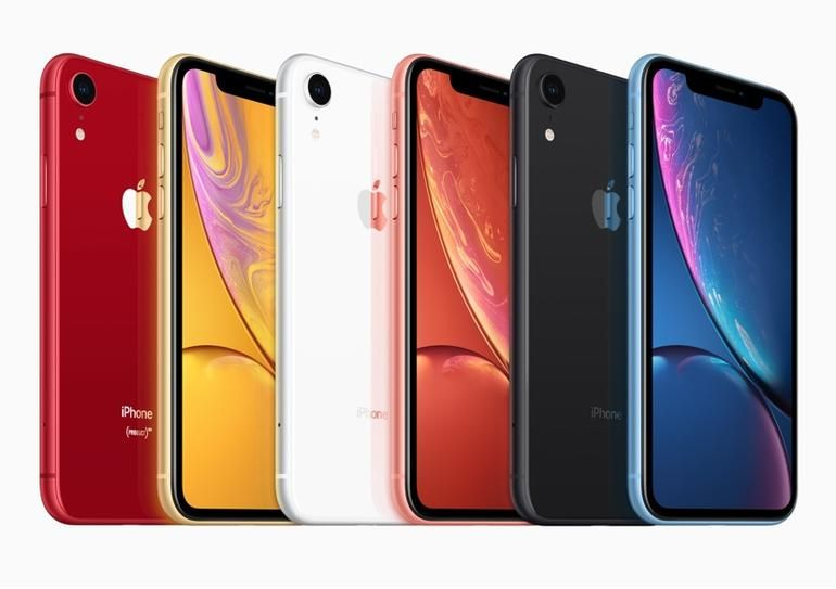 首批iPhone XR发货量国内市场占三分之二
