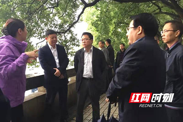 陈文浩调研长沙排水规划和黑臭水体治理工作
