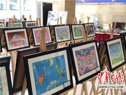多图!50多幅幼儿科学绘画亮相2018科学节