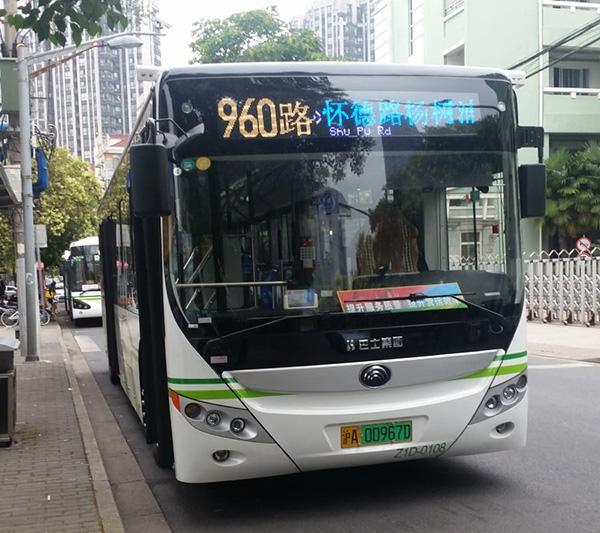 """""""乘客别着急,全车等着你"""" 公交960路服务乘客从细节着手"""