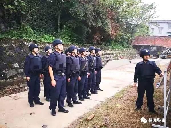 【百日会战】株洲公安蜀黍演练5类突发警情现场处置!