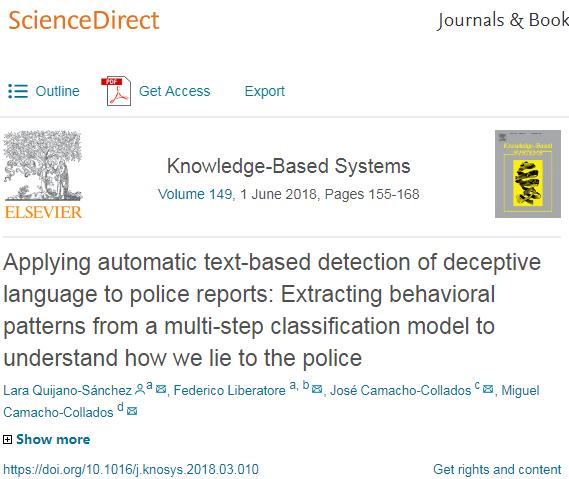 AI软件助西班牙警方识破更多报假案的骗保人