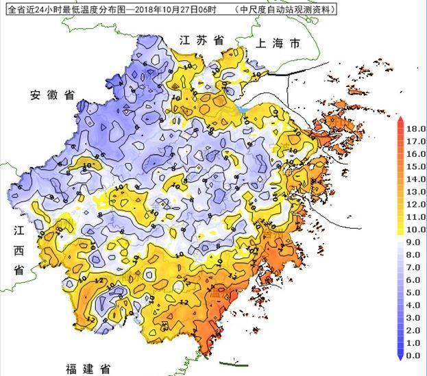 连晴模式开始 今晨(27日)气温明显下降
