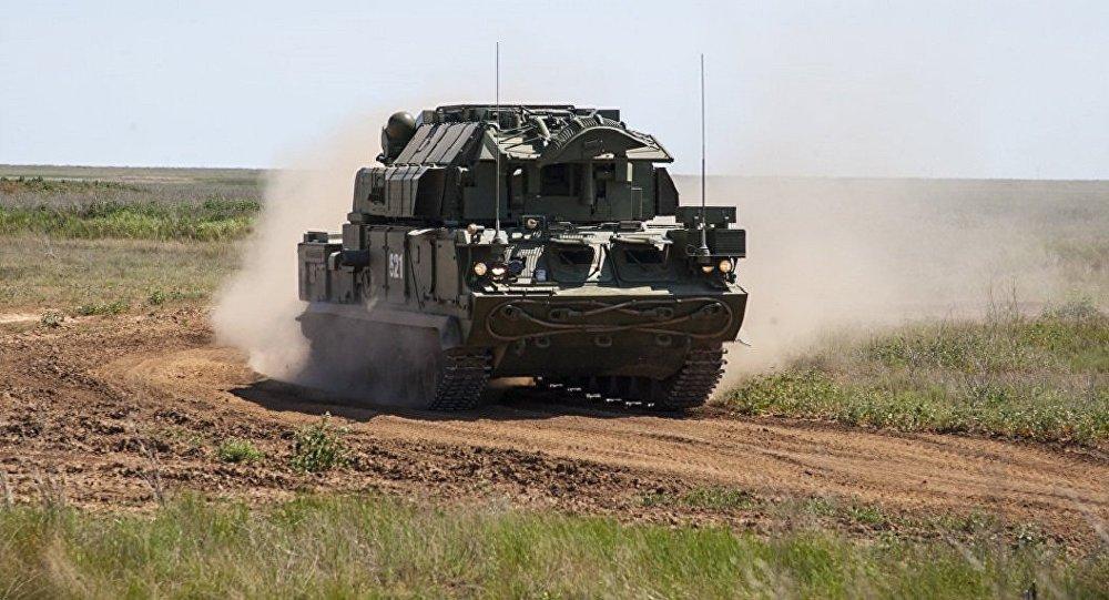 俄南部军区接装最新型道尔-M2防空导弹系统