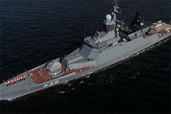俄罗斯科幻轻型护卫舰即将服役太平洋舰队