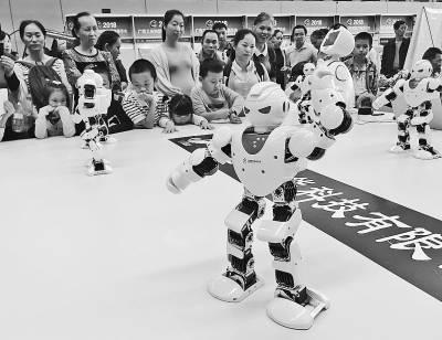 机器人表演