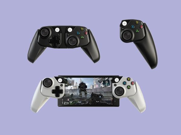 微软展示专为手机/平板打造的外接游戏手柄