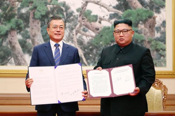 """历史首次!""""文金会""""《平壤宣言》具备法律效力"""