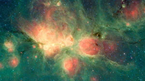 NASA放出猫爪星云近照:怎么能这么可爱?