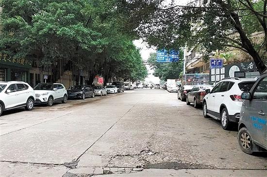 旧路换新颜城市品质提升永盛二路、丰康路与吉利街完成道路改造