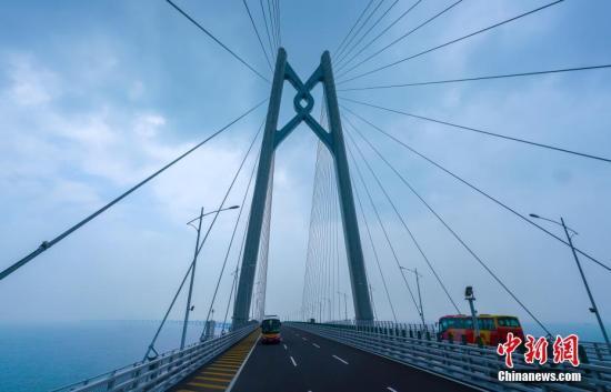 港珠澳大桥使用人次创开通以来新高