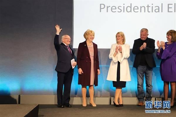 希金斯再次当选爱尔兰总统 获得55.8%的选票