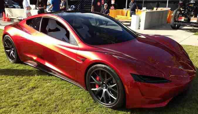 特斯拉新一代Roadster公开亮相