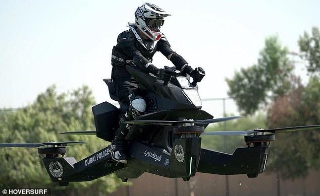俄新款四驅飛行摩托已接受預定 每臺15萬美元