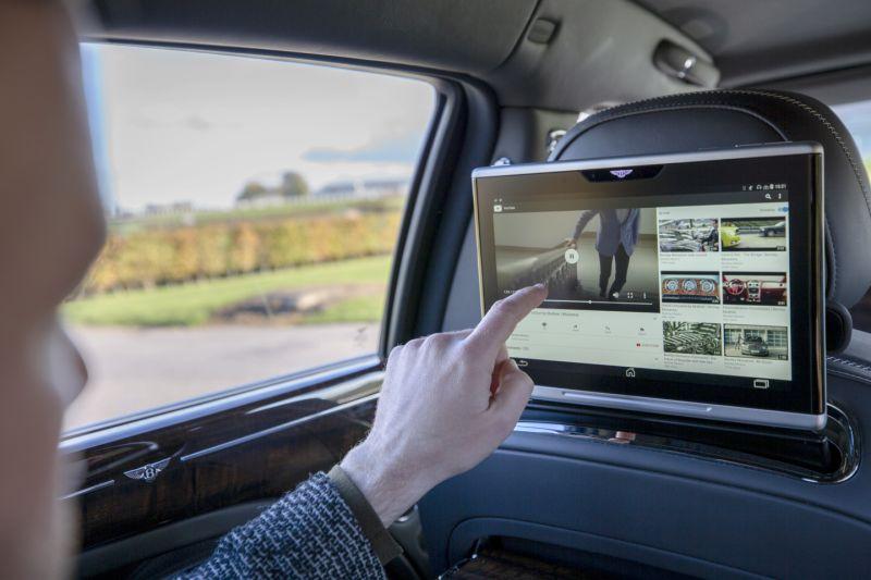 宾利推出全球首个超高速车载Wi-Fi系统