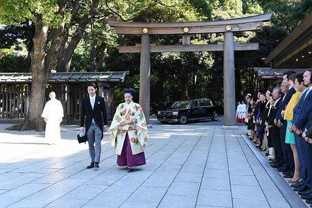 日本绚子公主大婚 嫁平民放弃皇籍 获赠617万礼金