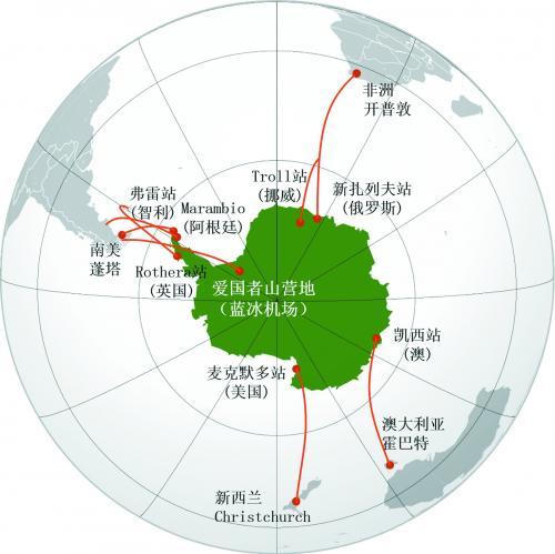 中国欲在南极建永久机场
