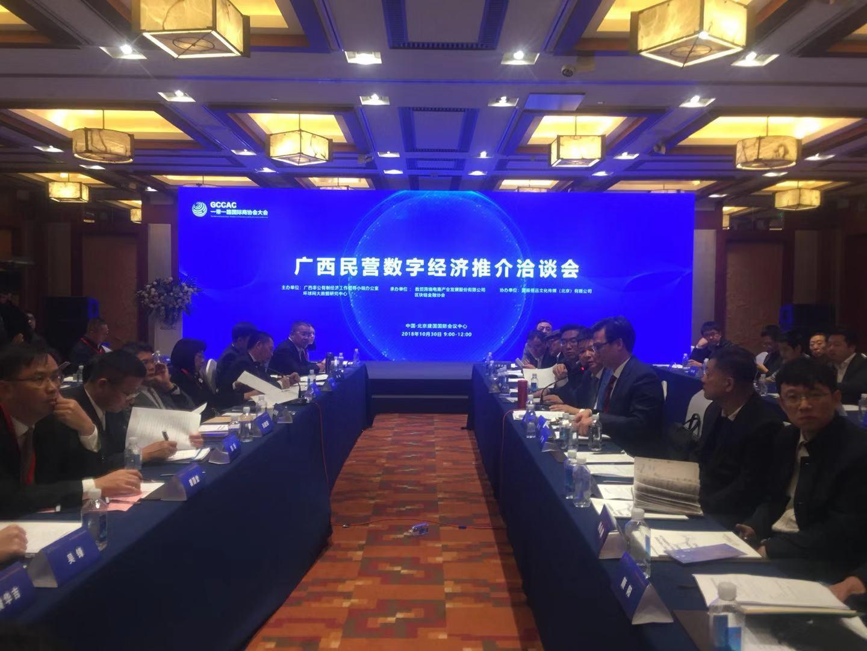广西民营数字经济推介洽谈会在京顺利举行