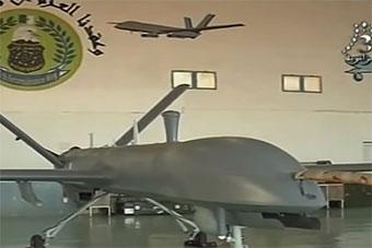 阿尔及利亚展示购自中国彩虹3彩虹4无人机