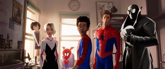 《蜘蛛侠:平行宇宙》入围奥斯卡最佳动画长片