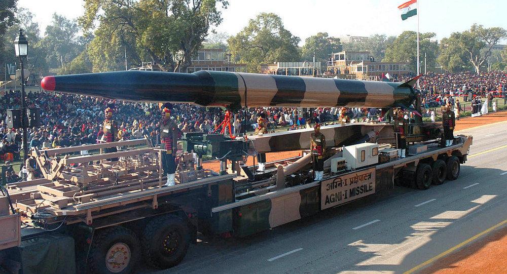 印度再次成功试射烈火-1导弹 能够携带核弹头