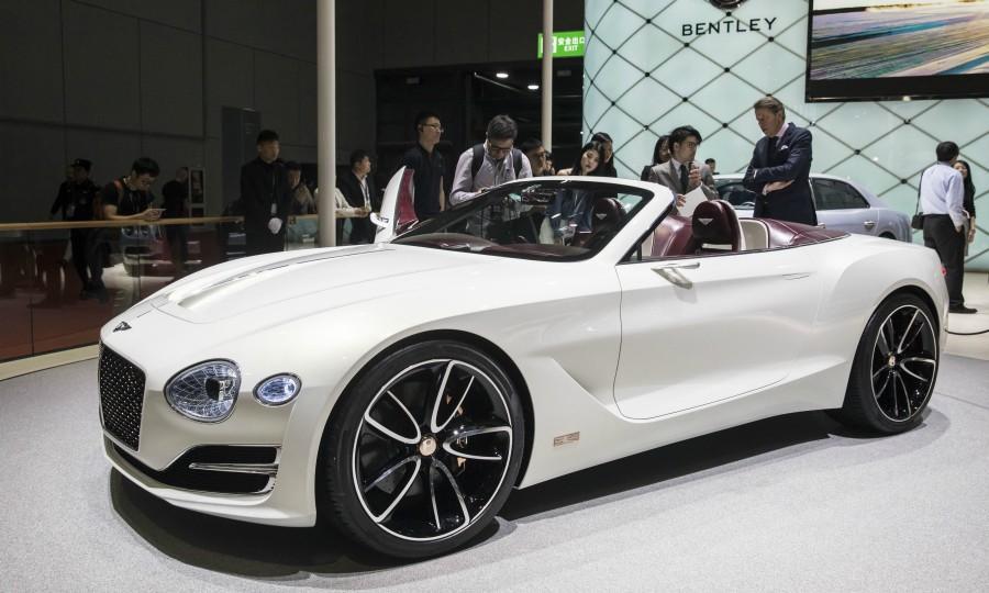或基于保时捷平台 宾利计划推出首款纯电动汽车
