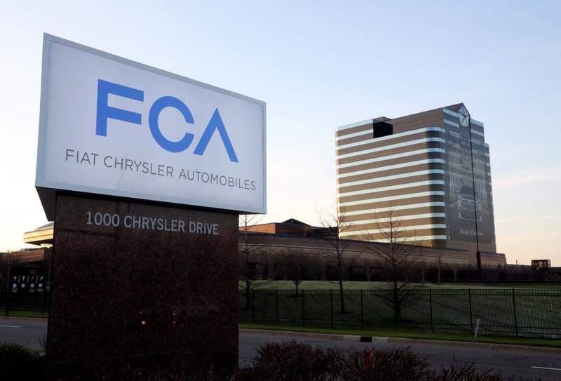 FCA三季度净利润6.42亿美元 同比降38%
