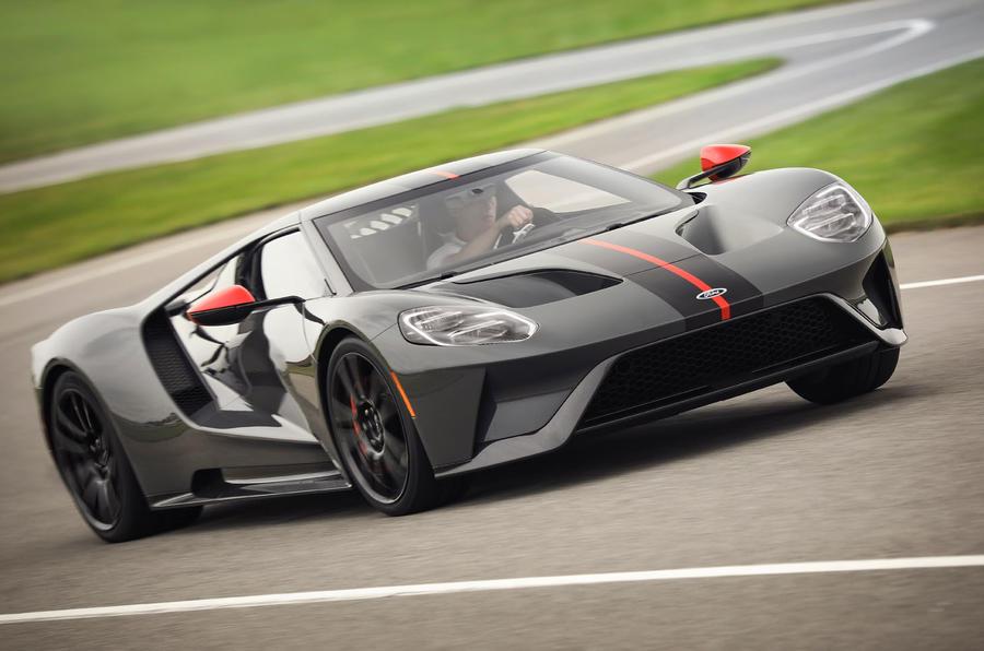 福特發布GT Carbon Series特別版 碳纖維材質減重18kg