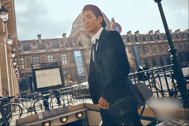 杜德伟魅力大片 行走在巴黎的暖阳绅士