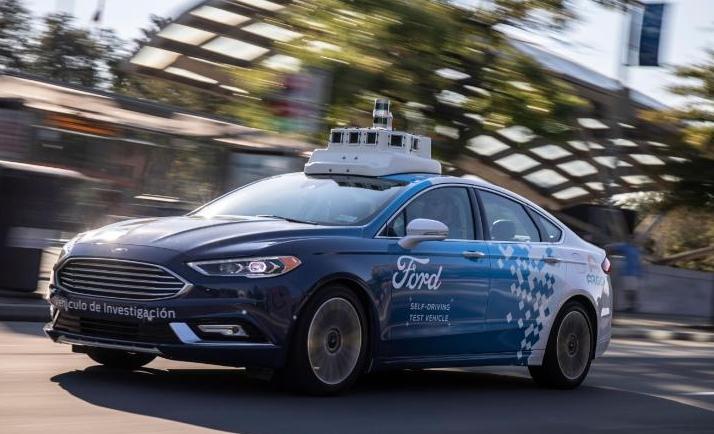 福特和百度在中国启动自动驾驶测试 今年年底上路