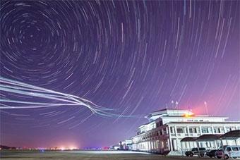为航展保驾护航:中国空军战机夜航美图相当帅气