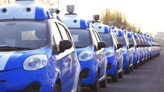 百度和福特联手在中国测试L4级别自动驾驶车
