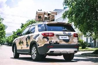 国产大型SUV装轻机枪武器塔 将亮相珠海航展