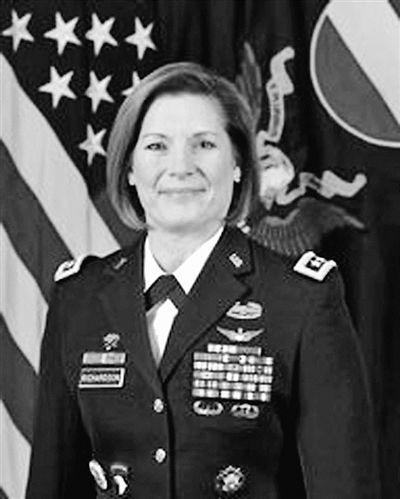 女将掌印美陆军最大司令部 曾因一事让男兵服气