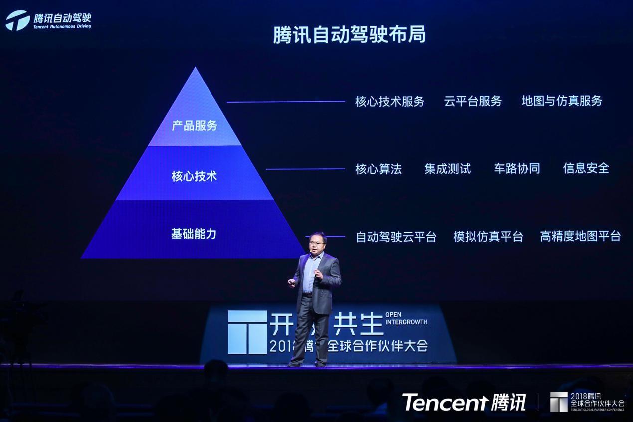 腾讯自动驾驶核心技术平台首亮相 可提供定制化服务
