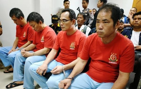 4名台湾人走私毒品 印度尼西亚法院宣判:全部死刑