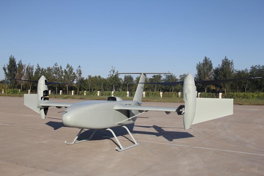 中国最新无人机——彩虹-10曝光 下周将亮相珠海航展