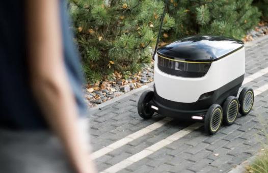 Starship送餐机器人现可向客户交付包裹