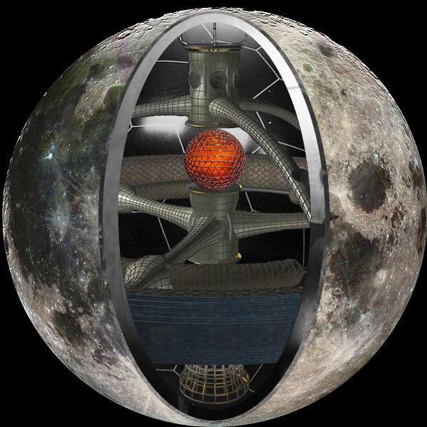 """""""人造月亮"""" - 照明利器还是污染之源?"""