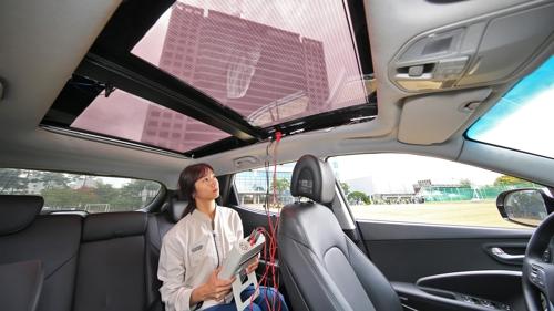 現代研發太陽能充電系統 計劃2019年后投入使用