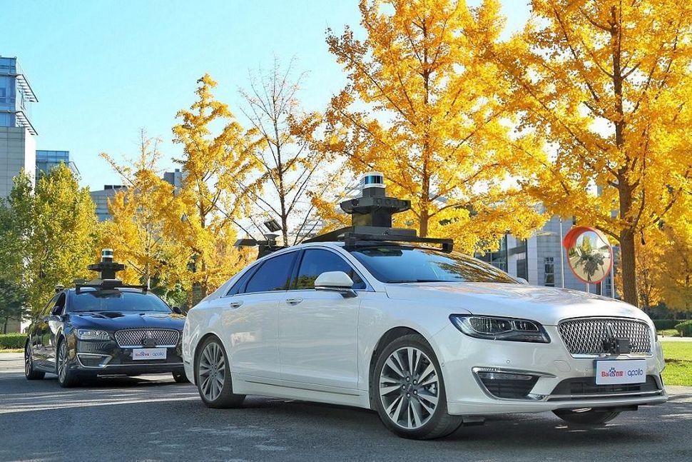 福特聯手百度 年底在華啟動自動駕駛汽車路試