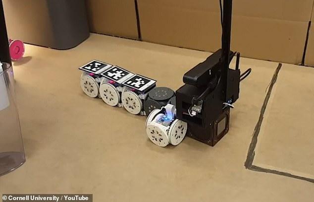 新型模块机器人:可在无人机和机械臂间自由切换