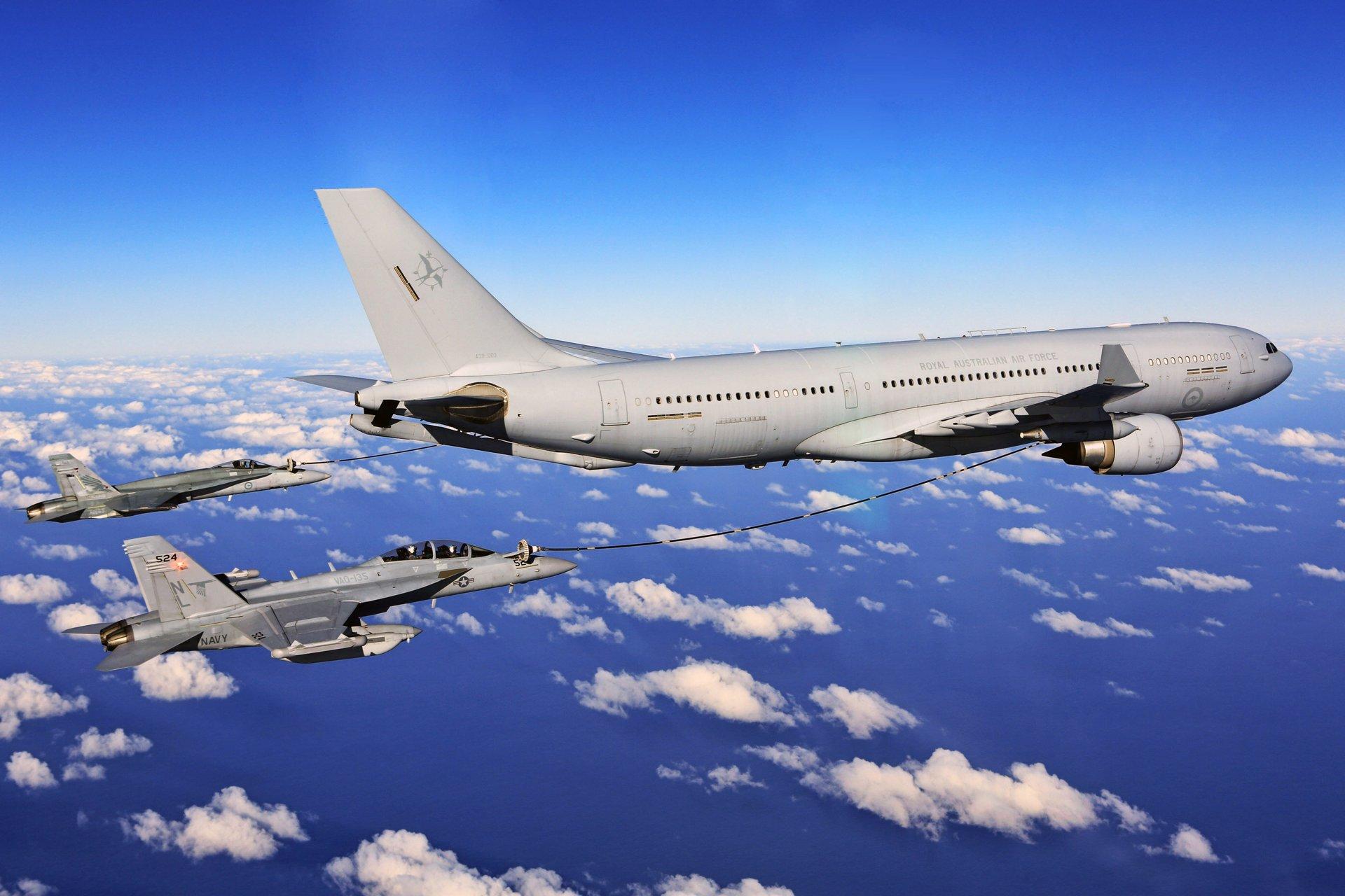 韩军要装备空中加油机了:战斗机作战将延长1小时
